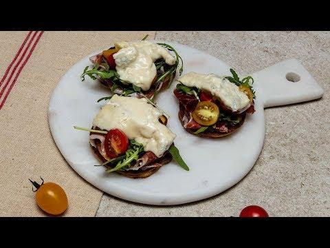 mini-pancakes-à-la-ricotta-et-gorgonzola---les-recettes-rapides-de-gianpiero-cravero