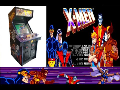 X-Men (1992) ARCADE GamePlay  Marvel from TANO DESTROYER