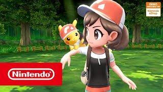 Pokémon: Let's Go, Pikachu! and Pokémon: Let's Go, Eevee! - Download the free demo!