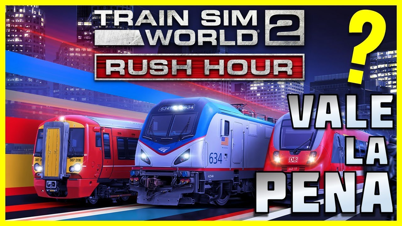 ❓ Qué es la RUSH HOUR ❓ 🚊 Train Sim World 2
