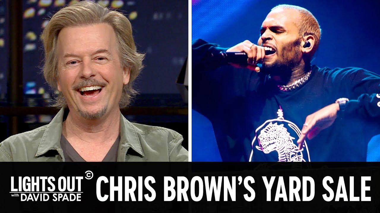 Chris Brown's Garage Sale (feat. Jen Kirkman) – Lights Out with David Spade