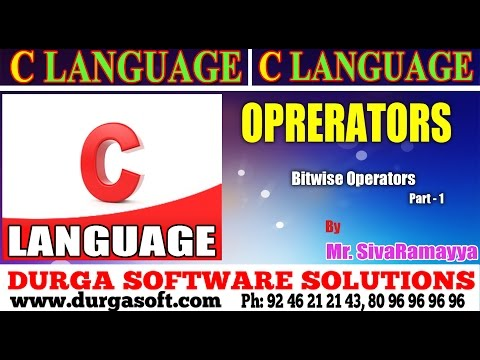 Types of Operators ( bitwise operators Part -01) in Hindi || By deepak from YouTube · Duration:  4 minutes 52 seconds