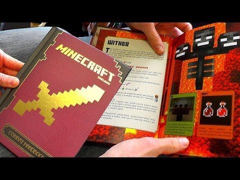 Minecraft Combat Handbook Guide Book Review