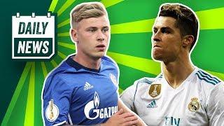 Cristiano Ronaldo zu Juventus wird ernst! Dortmund holt Real-Talent! Max Meyer zur Eintracht?