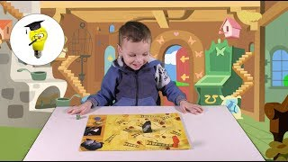 занятия для детей -  настольная игра КАЛАЧИ-кошки мышки калачи