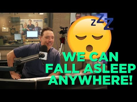 In-Studio Videos - We Can Fall Asleep Anywhere!