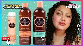HASK - Productos RESEÑA Coconout Monoi  Oil - Cabello reparado