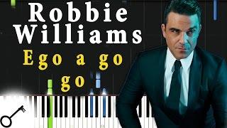Robbie Williams - Ego a go go [Piano Tutorial] Synthesia | passkeypiano