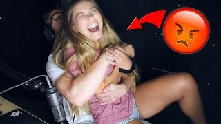 Try Not to RAGE Challenge with My Girlfriend! (she SCREAMED)