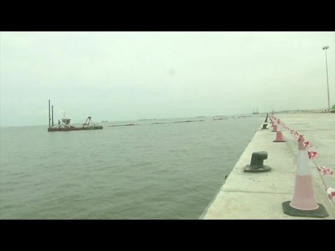 Gabon, Inauguration du Port Minéralier inauguré à Owendo