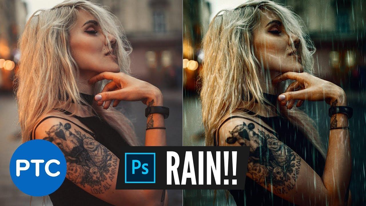 Realistic Rain Effect | Photoshop Photo Manipulation Tutorial