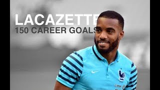 Alexandre Lacazette • 150 career goals • 2010 - 2018