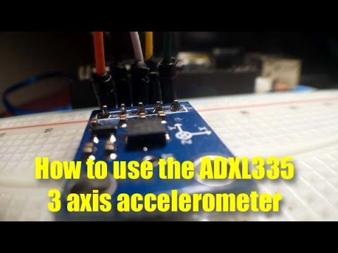 how to build an accelerometer