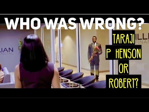Lets Argue - Who Was Wrong In The Movie Acrimony? Taraji P Henson Or Robert?