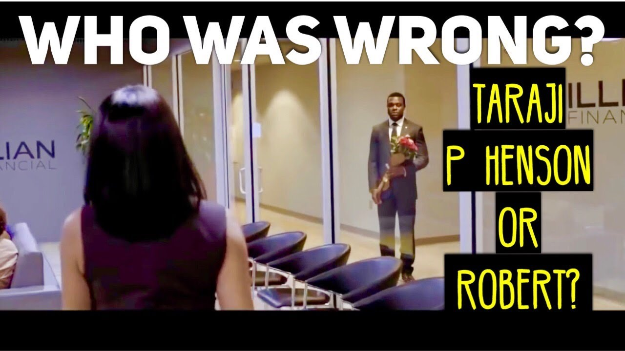 Download Lets Argue - Who Was Wrong In The Movie Acrimony? Taraji P Henson Or Robert?