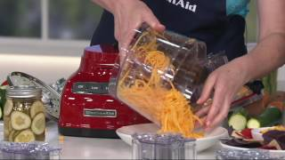 KitchenAid 9-cup ExactSlice Food Processor w/Julienne Disc on QVC