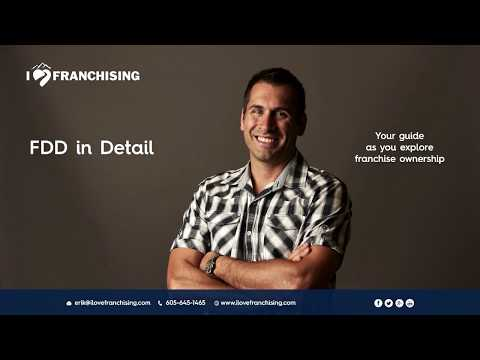 Franchise Disclosure Document - Overview  (1 of 5)