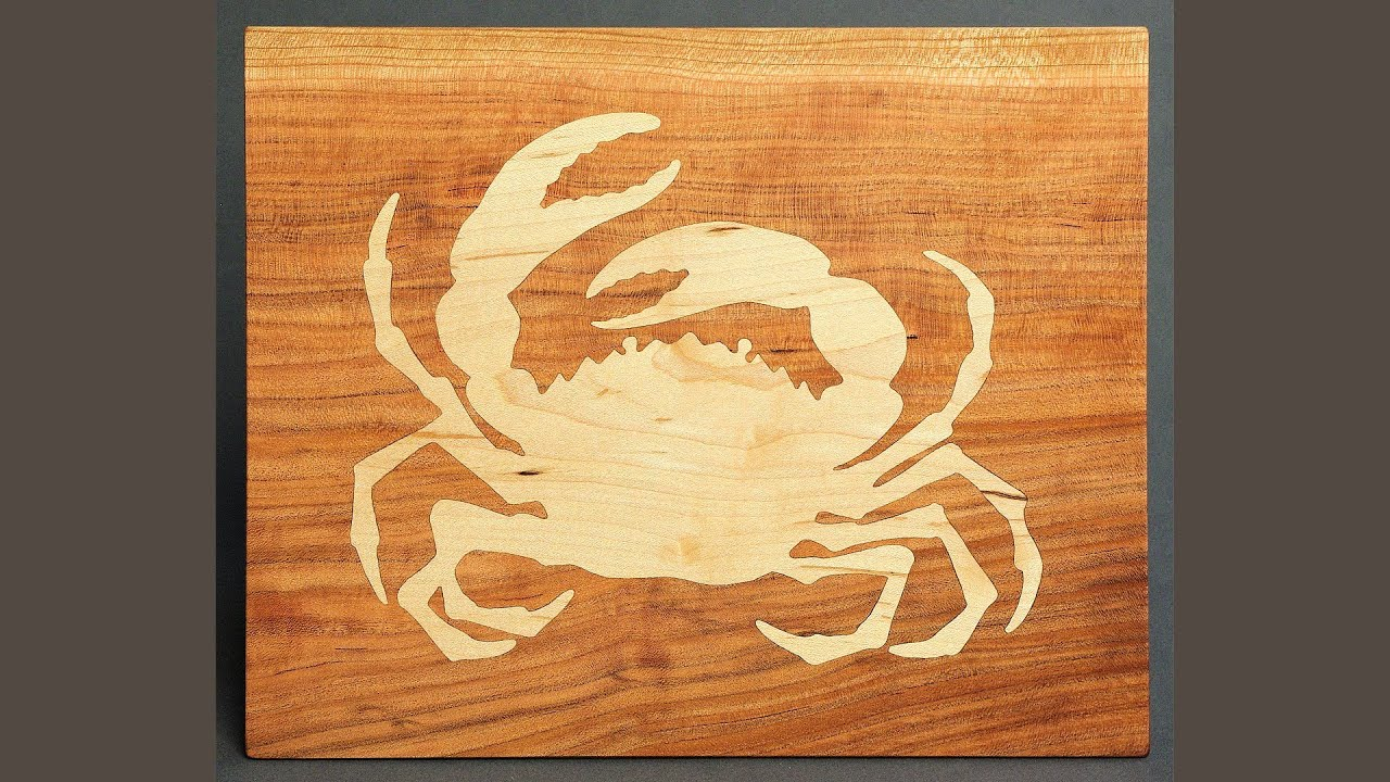 Making a cnc inlay crab cutting board andrew pitts How to make designs in wood