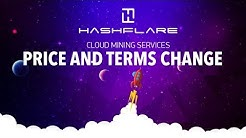HASHFLARE | Bitcoin Contract Price Doubles And No More Lifetime Contract. (Very Disappointing)