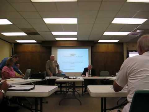 Greene Co. Commissioners Meeting Jul 6 2010 Pt1