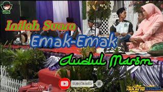 MUSIK AUDUL MAROM DEMAK || Mbah Modin Vocal Munadziroh.