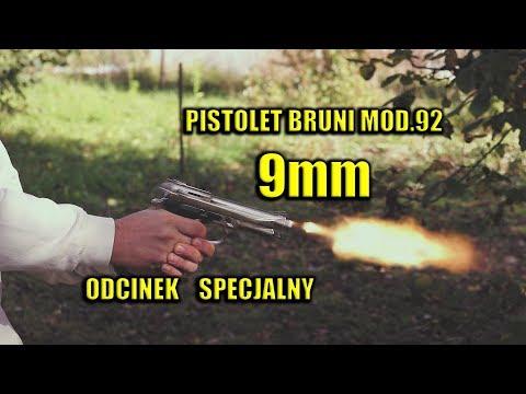 Pistolet BRUNI mod. 92 kal. 9mm PAK replika BERETTA 92