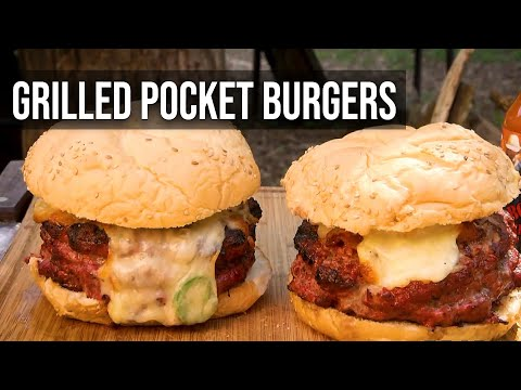 Grilled Pocket Burgers by the BBQ Pit Boys