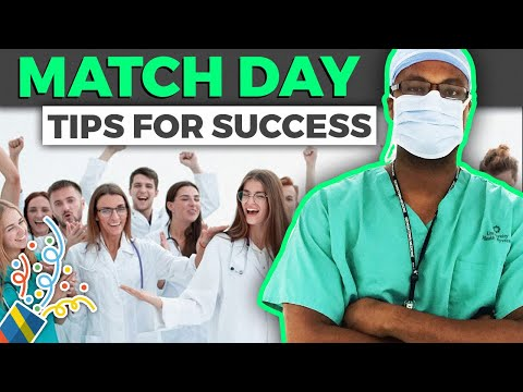 MATCH DAY for medical students: Tips for a successful match!