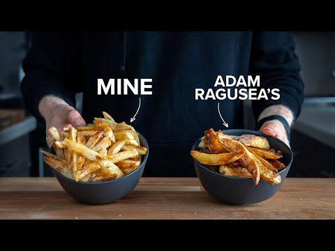 I remastered Adam Ragusea's Crispy Oven Fries.