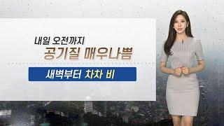 [날씨] 곳곳 미세먼지주의보…내일 전국 황사비 / 연합…