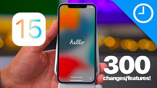 iOS 15 beta - 300+ Top Features / Changes!