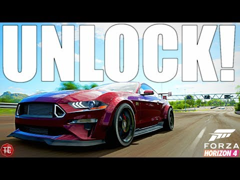 Forza Horizon 4 Mustang RTR Spec 5: How To Unlock and FULL BUILD! thumbnail