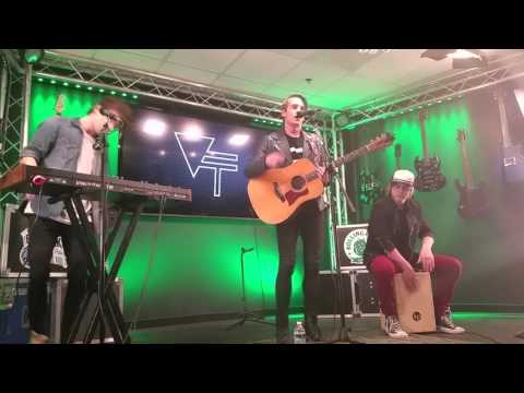 Vinyl theatre my fault at the  97x greenroom