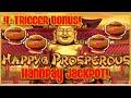 High limit dragon cash link happy  prosperous handpay jackpot 50 bonus round slot machine