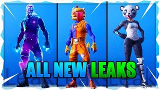 BRAND NEW FORTNITE HUGE LEAKS - NEW LEAKED SKINS, BACK BLINGS, EMOTES, AND MORE! Battle Royale Leaks