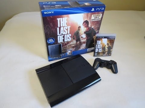 Unboxing: PS3 500GB The Last of Us Bundle
