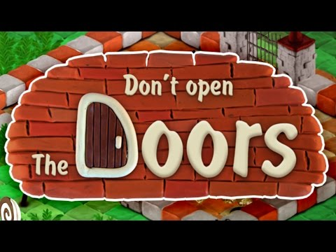 ATTACK OF THE .... Doors?!? // Don't Open the Doors! Funny Claymation RPG