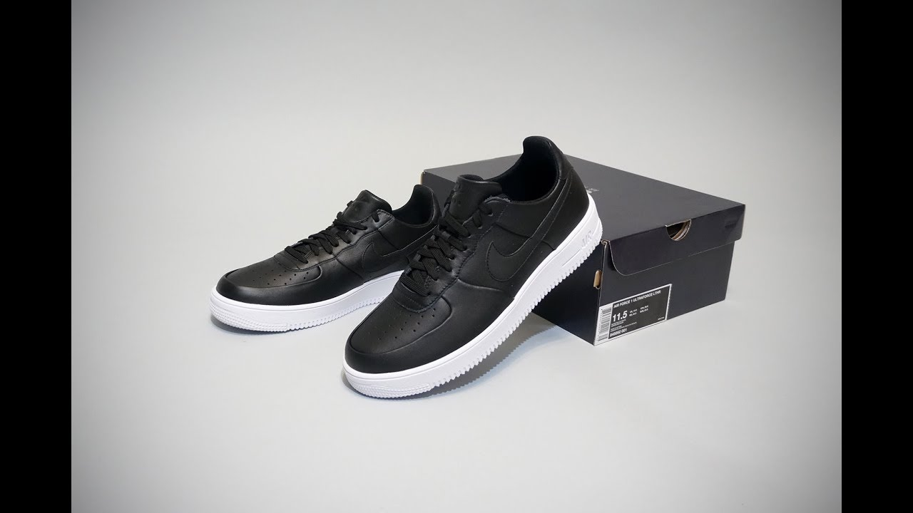 Nike Air Force 1 Ultraforce 1 Low Black YouTube
