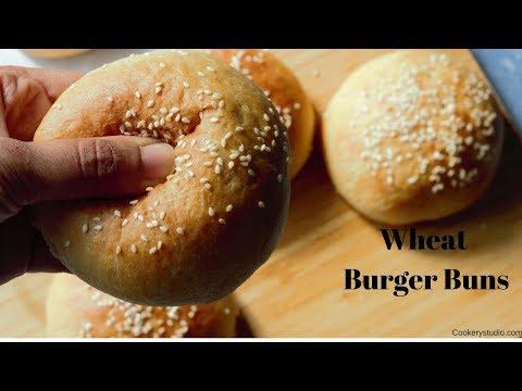 Whole wheat hamburger bun bread machine recipe