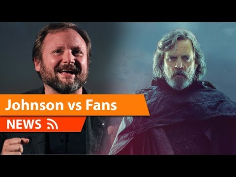 Rian Johnson says Luke is 100% Consistent with Original Trilogy & More