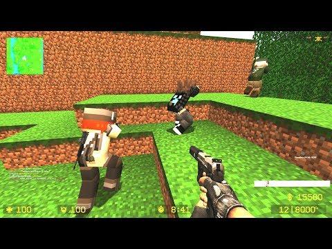 CSS: Zombie Escape Mod - Ze_Minecraft_Adventure_v1_2c (Level 3) On Unloze