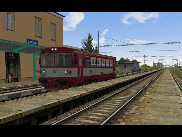 Microsoft Train Simulator - trať BP | Os 4283 Břeclav - Kúty