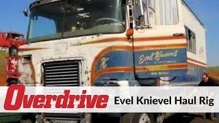 Evel Knievel haul rig rolls again
