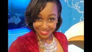 Michael Gitonga gives Betty Kyallo Valentine's Day flowers live on air