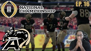 ARMY IN THE NATTY!!   ARMY REBUILD DYNASTY NCAA FOOTBALL 14 EP16