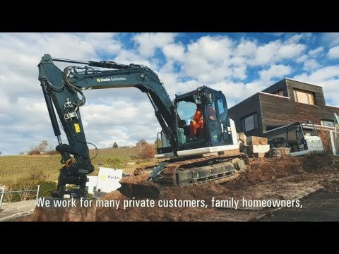 Cat® Landscaping Machines | Customer Story – Hasler Gartenbau GmbH (Switzerland)