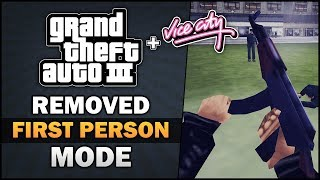 GTA 3/VC - Cut First Person Mode [Beta Analysis] - Feat.  SpooferJahk