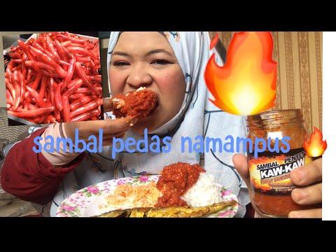 nasi dngn sambal penyet paling pedas !!