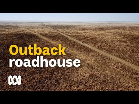 The outback Australian roadhouse - respite in the middle of