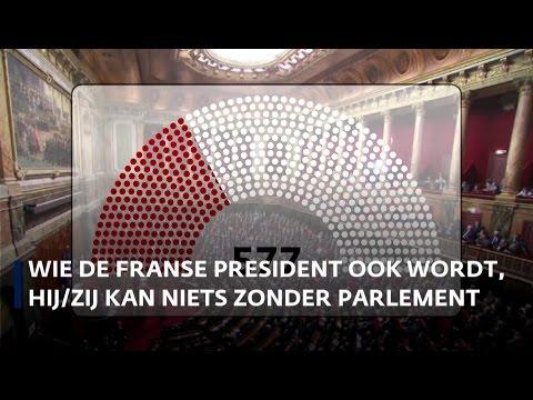 Nieuwe Franse president machteloos zonder steun parlement